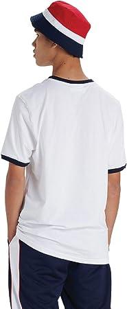 Fila de los Hombres Camiseta Rosco, Negro