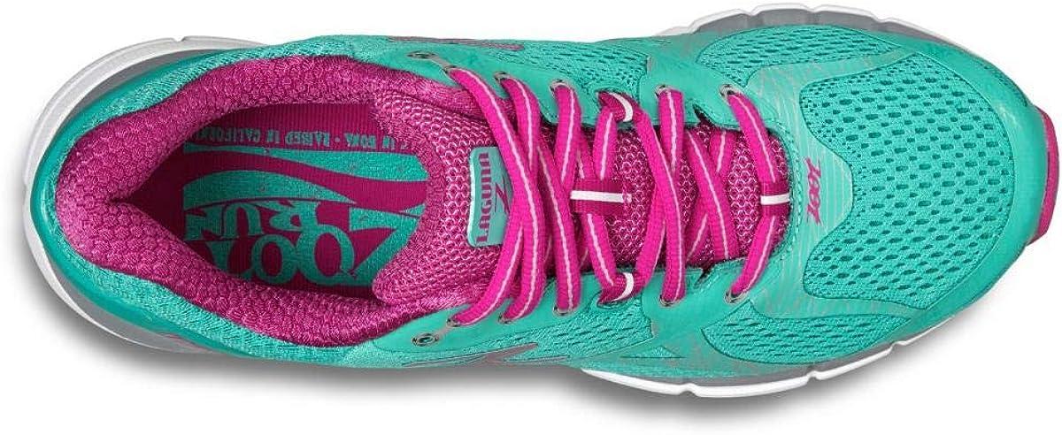 Zoot Women's Laguna Running Shoe Aquamarine/Passion Fruit/Grey