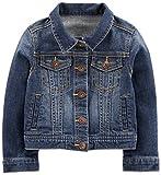 Simple Joys by Carter's Baby Girls' Toddler Denim Jacket, Medium Wash, 4T