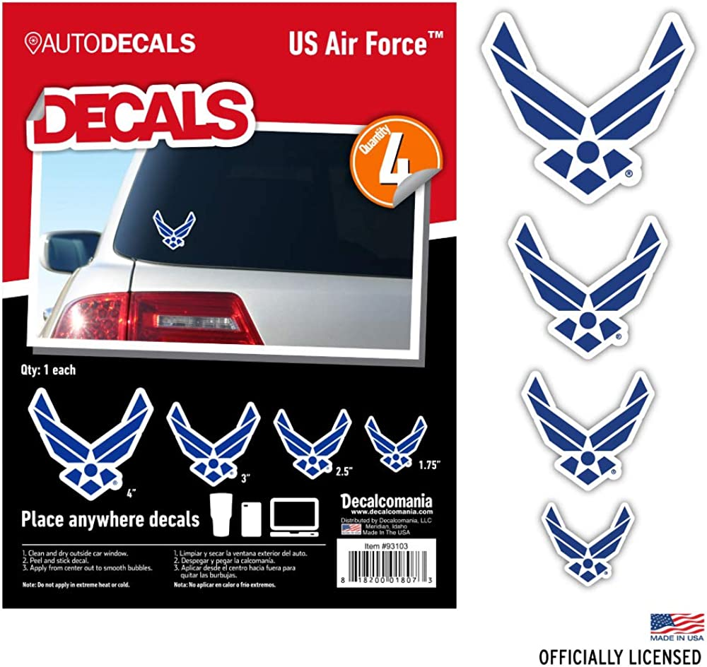 Officially Licensed US Military Car Stickers Decals