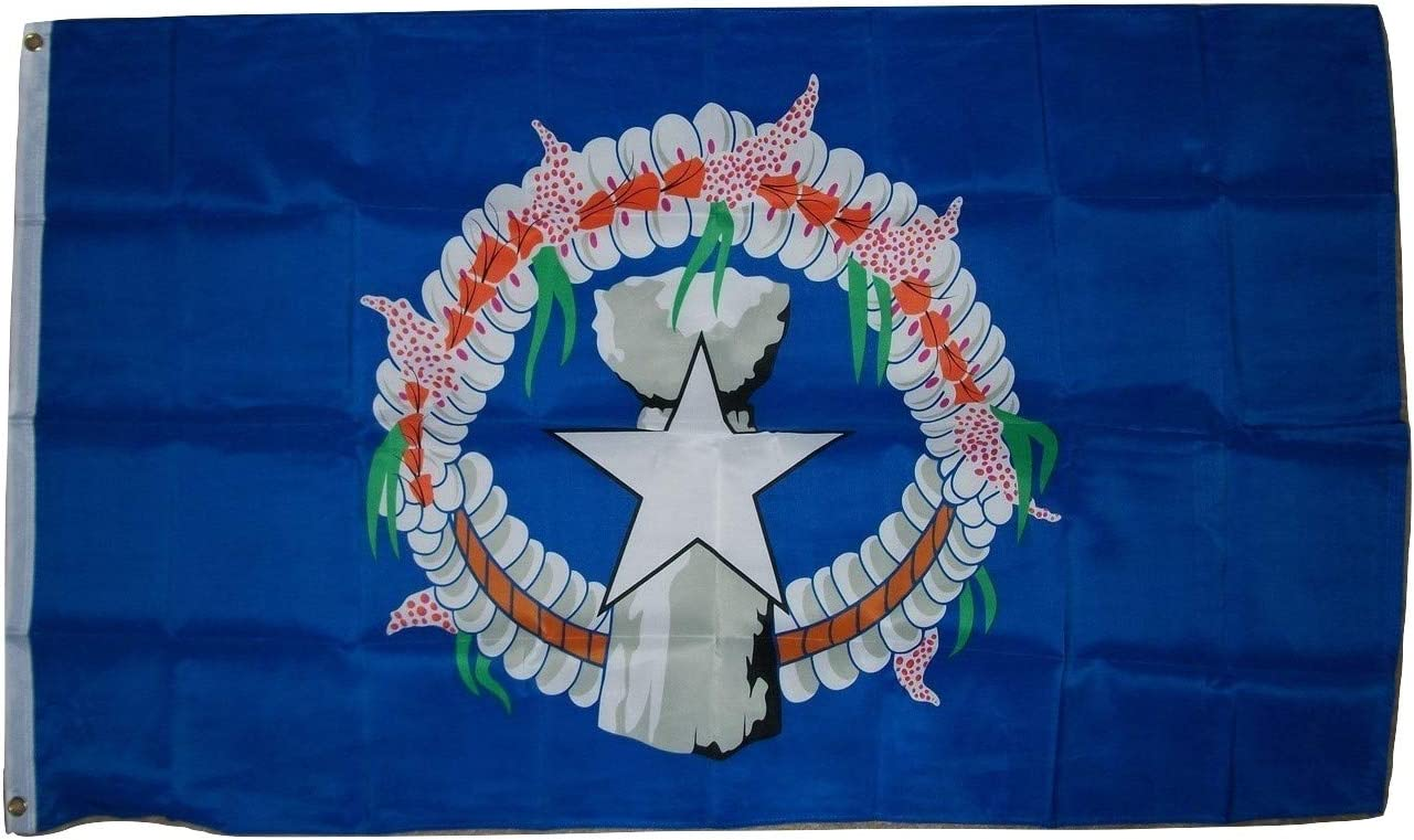 3x5 Northern Marianas Flag Commonwealth Island Banner Pacific Pennant Outdoor