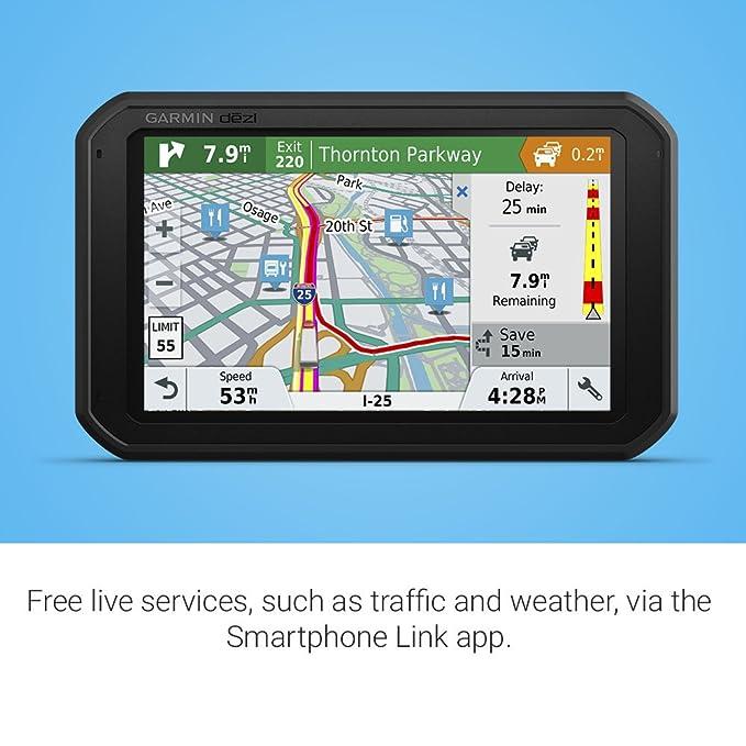 Garmin 780 LMT-S GPS Truck Navigator, 010-01855-00