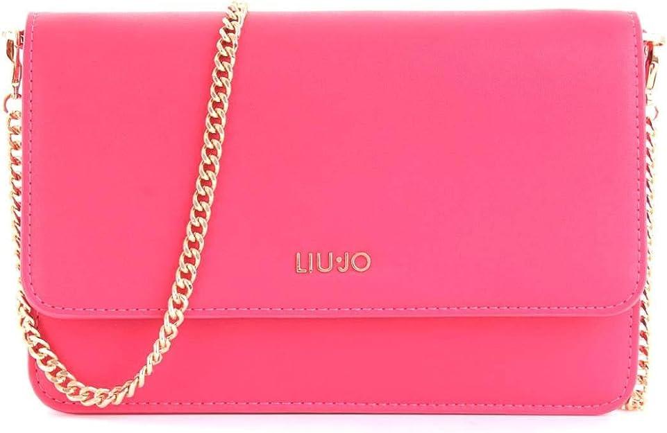 Di Più Sbaglio Appositamente  Liu-jo N19167E0040 Tracolla Accessori Rosa Pz.: Amazon.it: Scarpe e borse