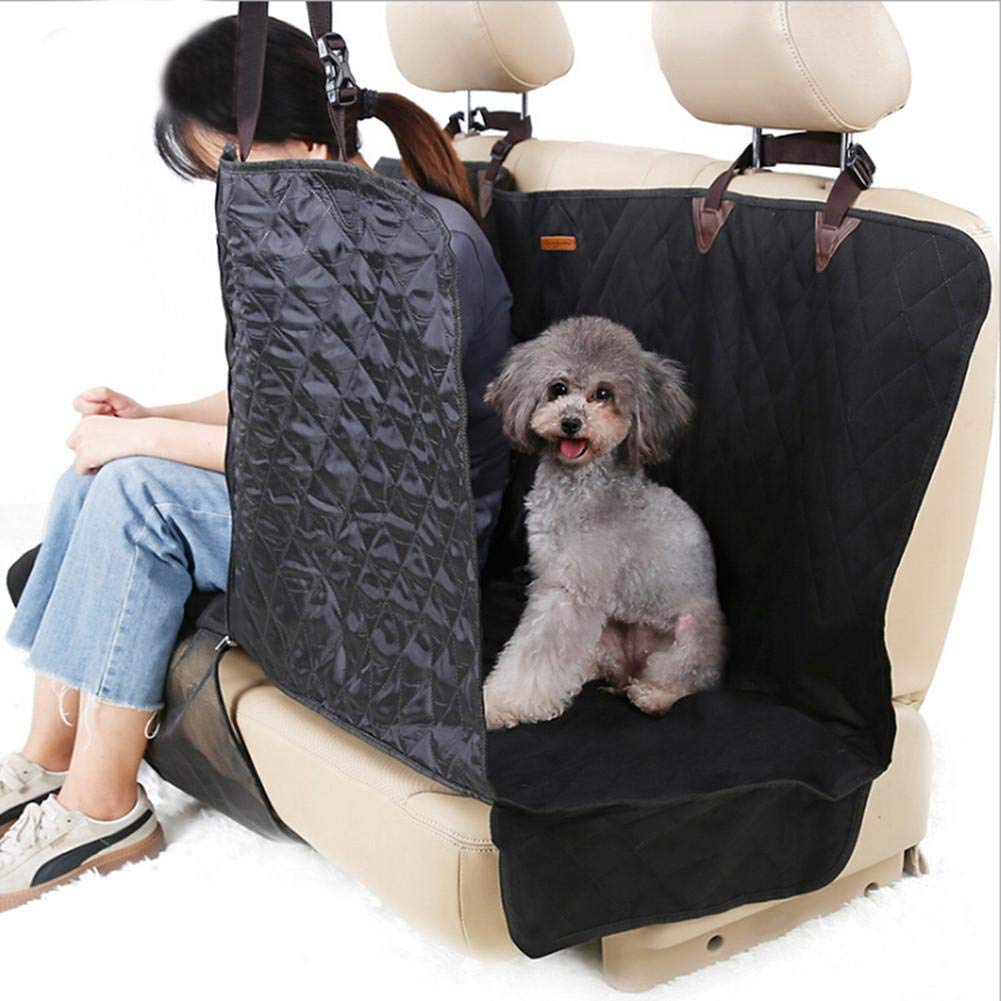 CHERRYSONG Dog Car Seat Covers,Sofa Car Rear Seat Pad Waterproof Dog Cushion,Pet Seat Cover for Back Seat of Cars//Trucks//SUV