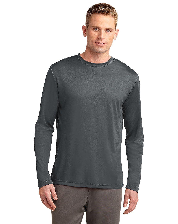 Dri Tek Big Tall Long Sleeve Moisture Wicking Athletic T Shirt