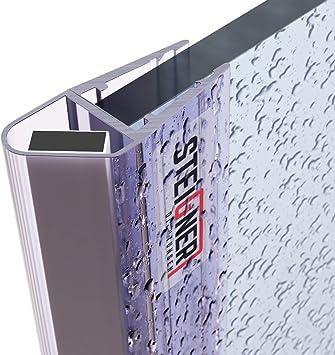 STEIGNER Junta de Cabina de Ducha UKM03 Junta Magnética de Mamparas de 3,5 mm / 4 mm / 5 mm 201 cm: Amazon.es: Bricolaje y herramientas