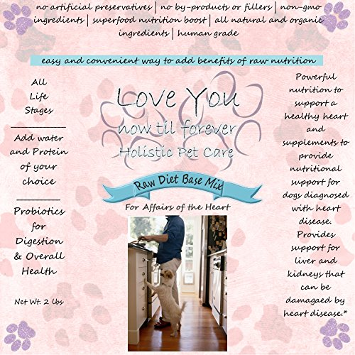 (Raw Base Mix Dog Food Heart Disease Support)