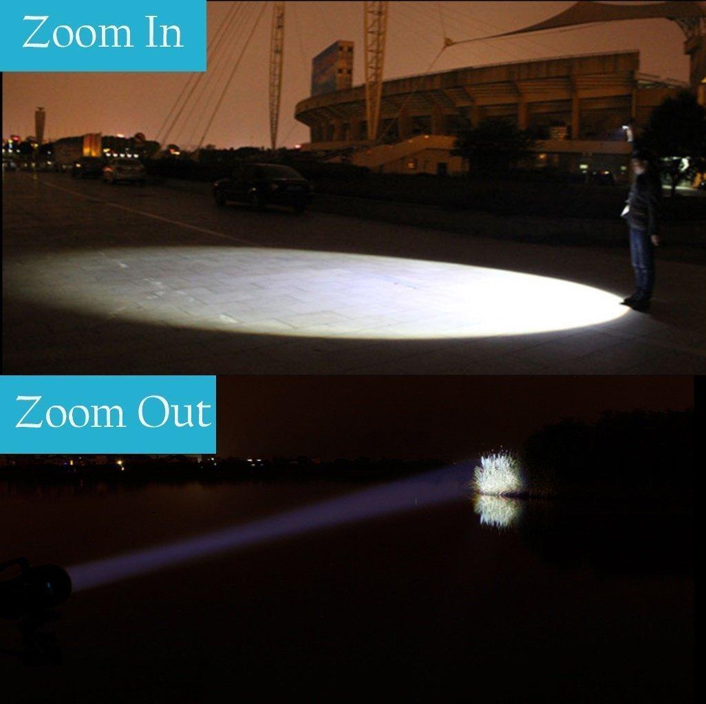 Zoomable Flashlight Luz FAGORY Taschenlampe Mini LED Alta Potencia Mano Impermeable Potentes 1000 L/úmenes 2 Paquetes 5 Modos Linternas T/áctica Militar para Ciclismo Camping Monta/ñismo