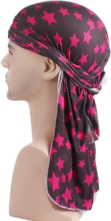 Huihong Turban Damen Herren Mütze Kopftuch Kopfbedeckung
