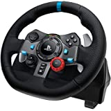 Logitech G29 Driving Force Racing Wheel Ps3 & Ps4 Dual Motor Force Feedback Helical Gearing with Anti-Backlash 900…