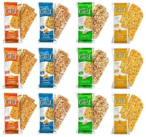Sólo las barras de queso, las barras de aperitivos crunchy ...