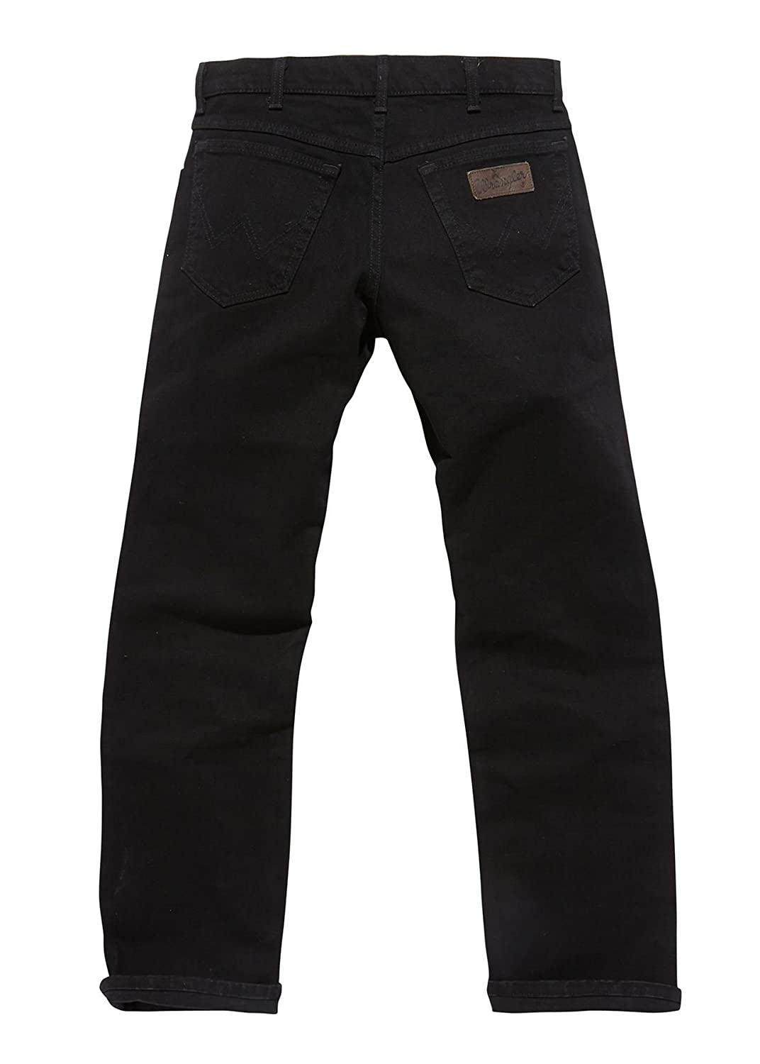 check out efa91 e91ad Wrangler TEXAS STRETCH BLACK OVER DYE JEANS IN WAIST 30 TO ...