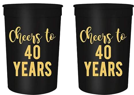 Amazon.com: Saludos para fiestas de cumpleaños de 30, 40, 50 ...