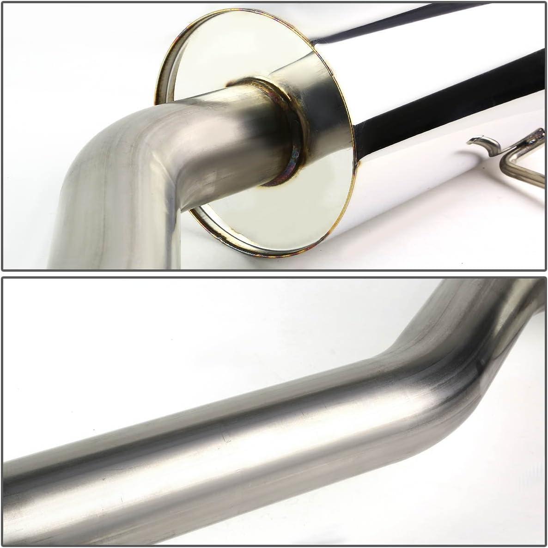 DNA MOTORING Rolled CBE-CCBT05-NRT Stainless Steel Catback Exhaust System