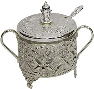 Majestic Giftware Decorative Silver Plated/Glass-5
