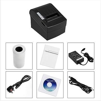 BDFA Impresora Bluetooth portátil, Cortador automático de Alta ...