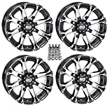 STI HD3 ATV Wheels/Rims Machined 14'' Can-Am Commander Maverick Renegade Outlander (4)