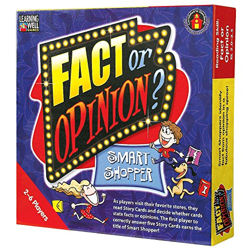 Games Well Learning Reading Comprehension - Edupress Fact or Opinion Game Red Level (EP60402)