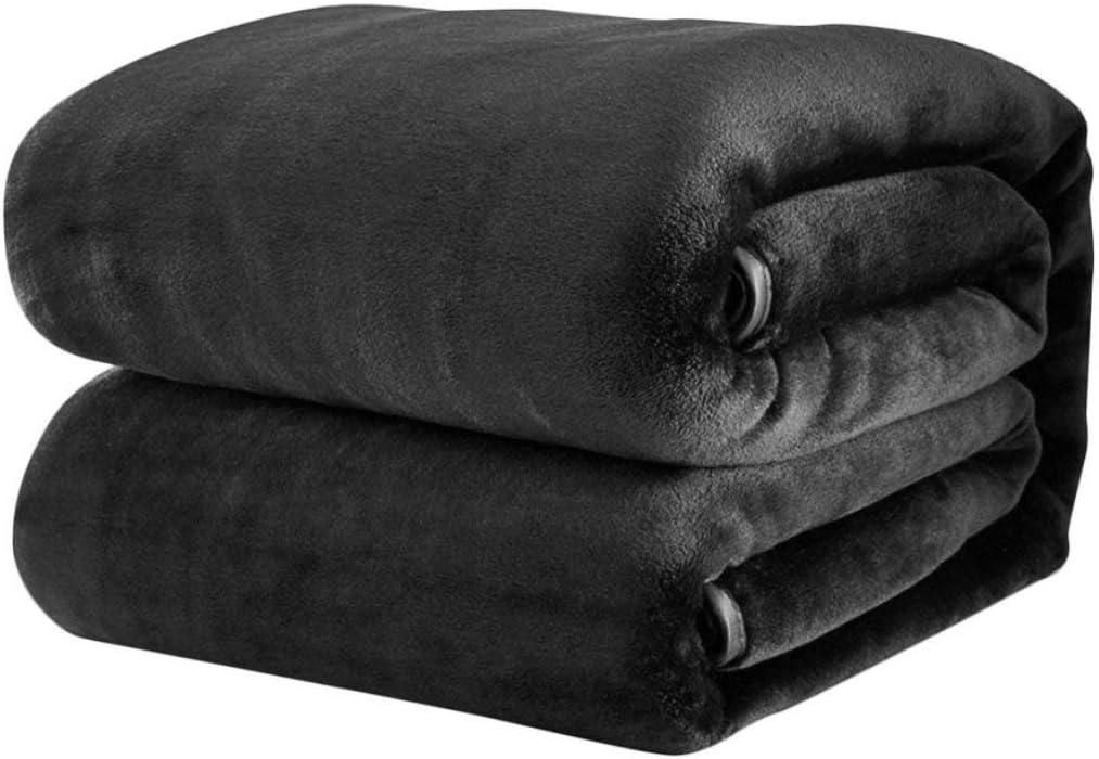 Fantasyworld Confortable Super Soft Keep Warm Blanket Flanelle Grande Taille de Couleur Unie Accueil Literie Bureau Canap/é Blanket Car Home Textile