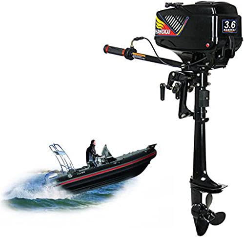 3.6HP 2-Stroke Corrosion Resistant Durable Boat Outboard Motor [Hangkai] Picture