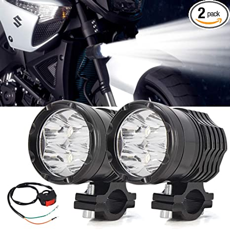 Indicator Lights Lights & Lighting 2pcs 10w Motorcycle Spotlight Bright Auxiliary Lamp U5 Chip Led Work Light Fog Light Car Accessories Motorcycle Bike Sale Price