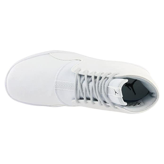 size 40 a162e edae4 Nike Air Jordan Eclipse Chukka Mens Trainers 881453 Sneakers Shoes (UK 9 US  10 EU 44, White Black Pure Platinum 100)  Buy Online at Low Prices in India  ...