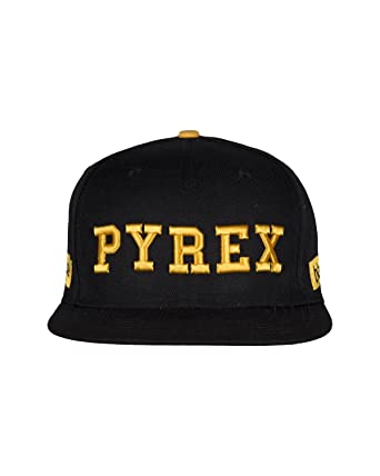 PYREX Baseball Hat with Logo Yellow - YELLOW  Amazon.co.uk  Clothing af05258d8497