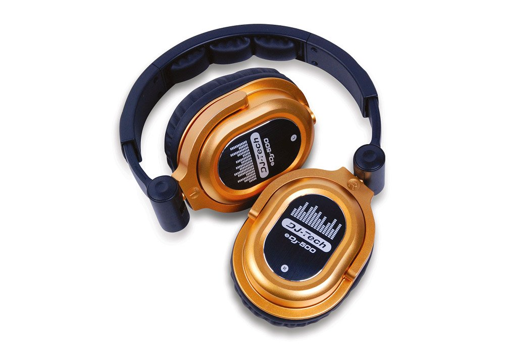 DJTECH EDJ500GOLD Live Sound Monitor, GOLD
