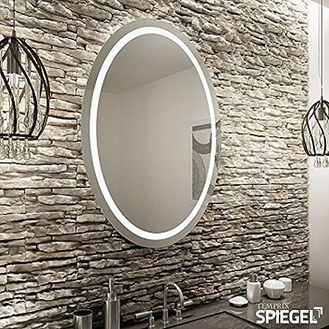 Bekannt Runder Spiegel LED mit Beleuchtung Badspiegel Wandspiegel rund TF51