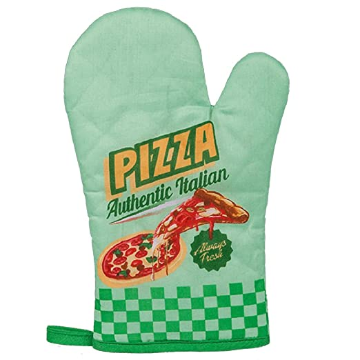 Rétro Pizza Italiano de manopla para Horno: Amazon.es: Hogar