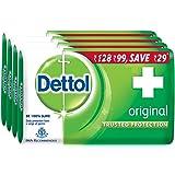 Dettol Soap Original, 75g (Pack of 4)