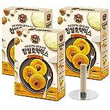 #10: Korean Sweet Pancake Hotteok Mix with Round Hand Grill Press Flipper, Set of 3