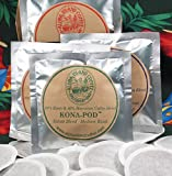 Variety Pack of Organic Kona Hawaiian Coffee Pods, 7 Roasts & Flavors, 18 Pods, From Aloha Island Coffee (Please Refer to Detailed Product Description)