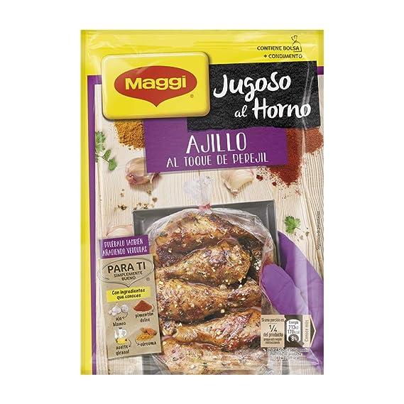 Maggi - Jugoso al Horno Pollo Al Ajillo - 36 g: Amazon.es ...