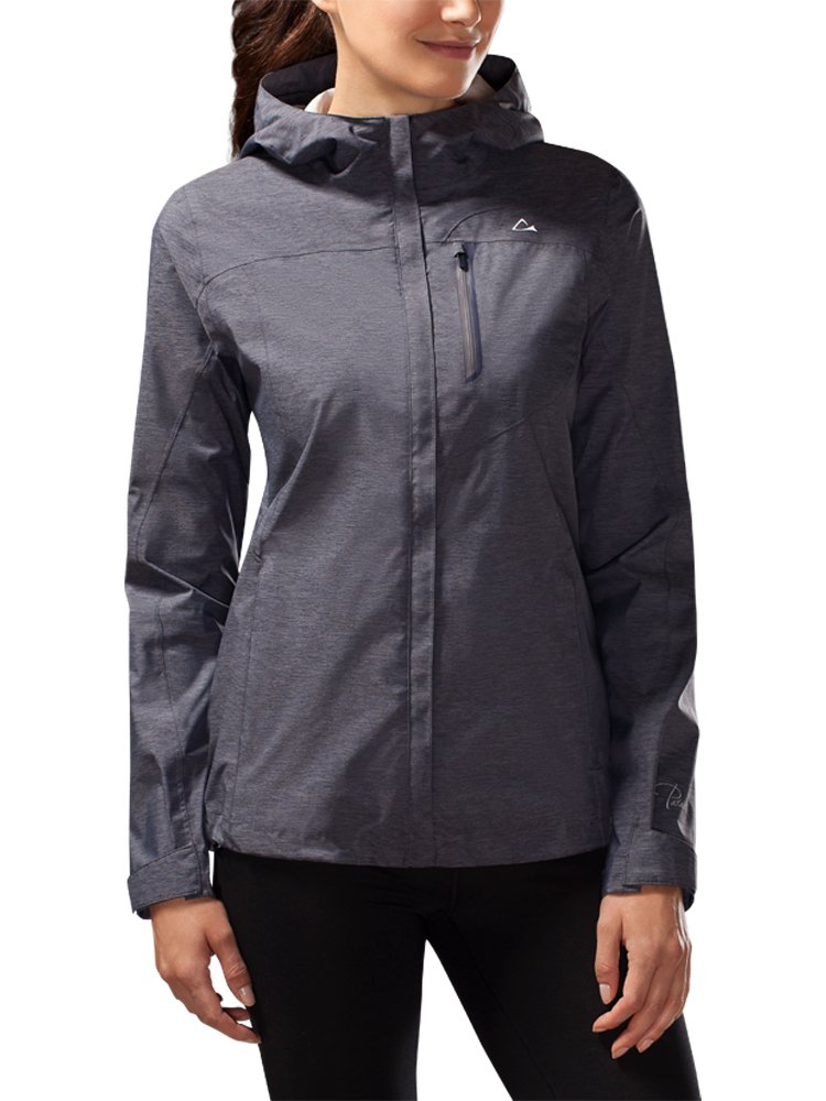 Paradox Women's Platinum Waterproof Rain Jacket (XL, Eclipse)