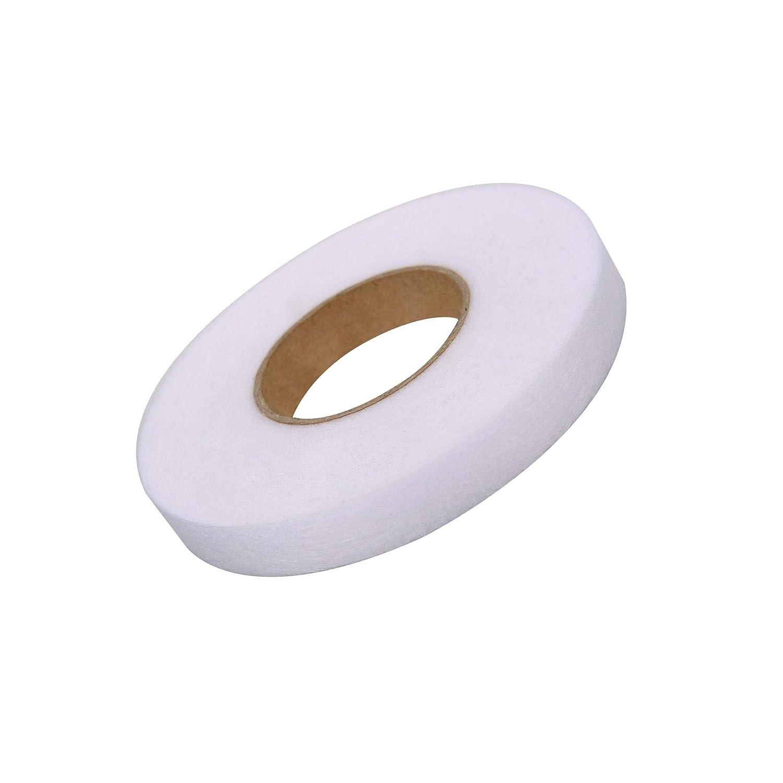 Lvcky 64m fer à repasser sur l'Ourlet Bande Tissu Fusing ruban thermocollant pas coudre Ourlet Rouleau de ruban adhésif pour Jeans Pantalon Vêtements (15mm de large)