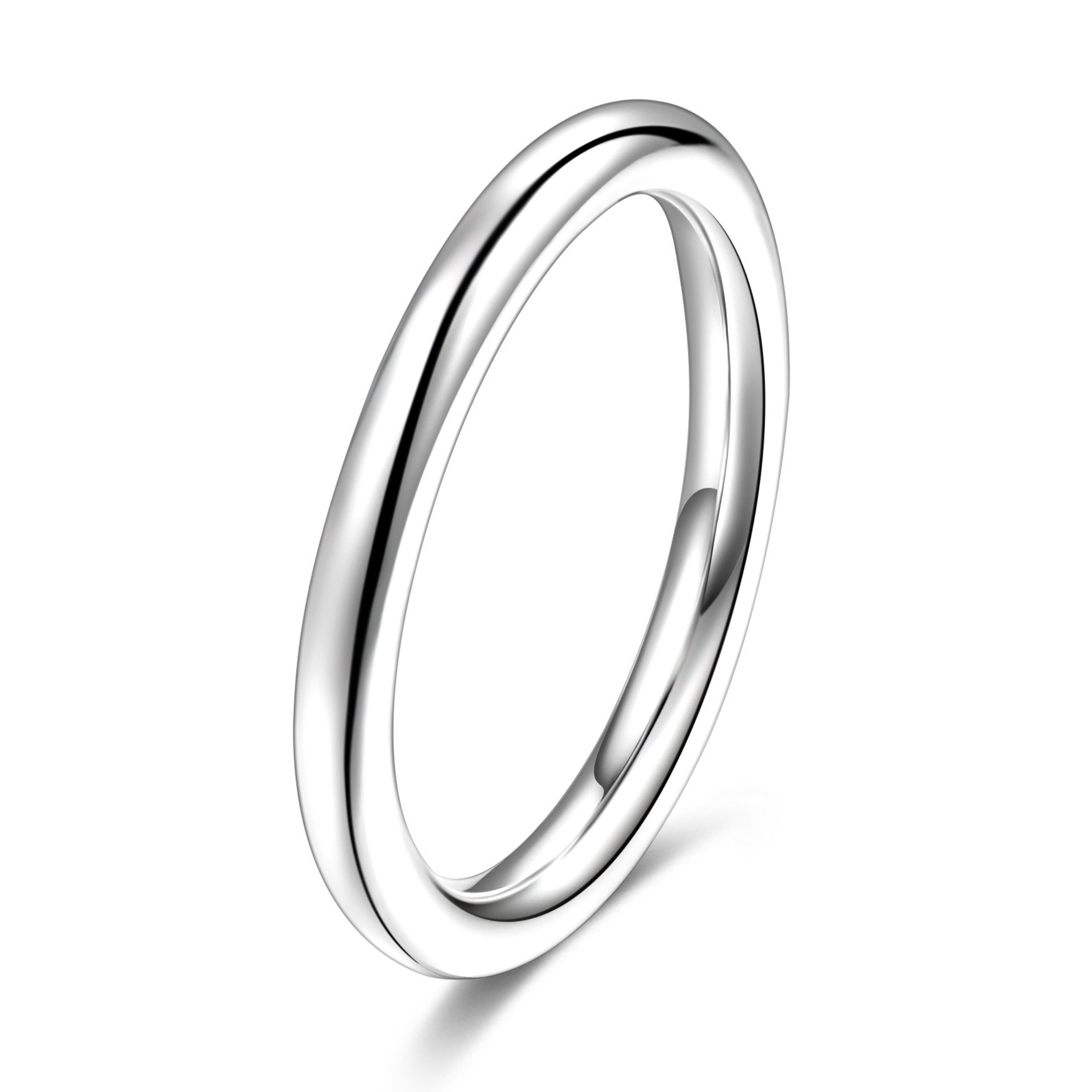 2.5mm Thick S990 Pure Sterling Silver Above Midi Knuckle Pinky Finger Ring Gothic US Size 8.5