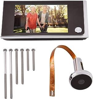 Mavis Laven Visualizzatore di spioncino per Porte digitali, Mini HD 3.5 Pollici LCD ad Alta risoluzione a Colori Schermo visivo Videocitofono Digitale per Interni