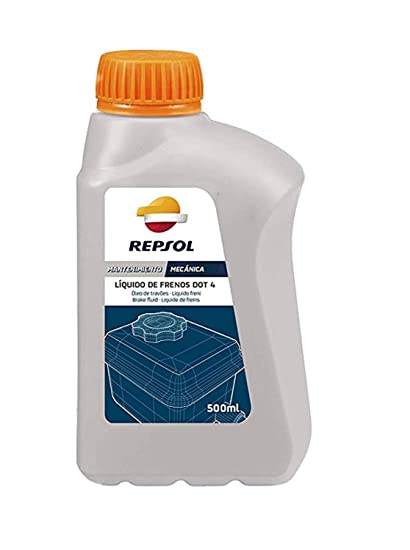 REPSOL LIQUIDO DE FRENOS DOT 4 500 ML