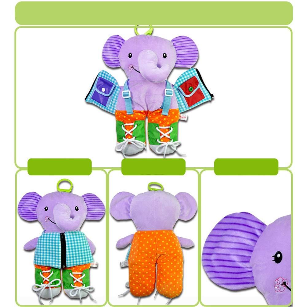 Educational Preschool Kinder-Spielzeug Intellektuelle Entwicklung Baby Lernen Kleidung Tuch Early Childhood Education 3D Puzzle Fr/üherziehung Stereo Tuch Buch Spielzeug 1 2 M/ärz 4-05 Jahre alten Junge