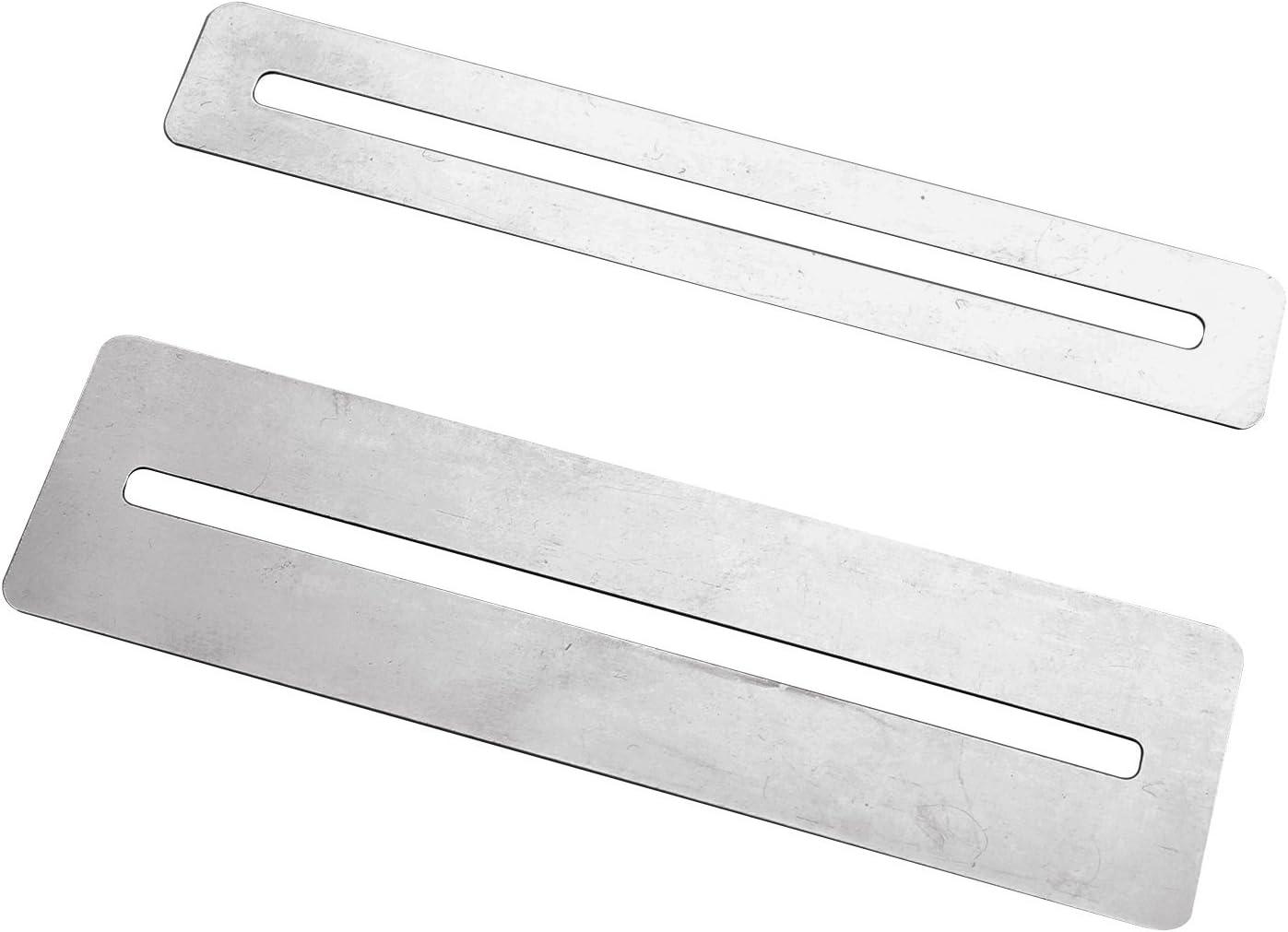 Pack de 2 protectores de diapasón de acero inoxidable para ...