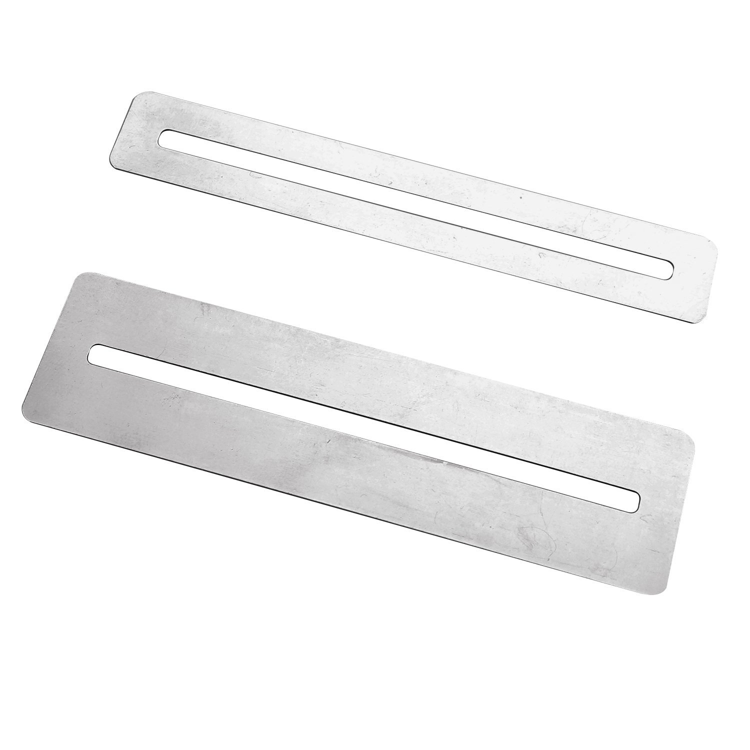 Pack of 2 Stainless Steel Fretboard Protector Fingerboard Guards for Guitar Bass Luthier Tool FUSD