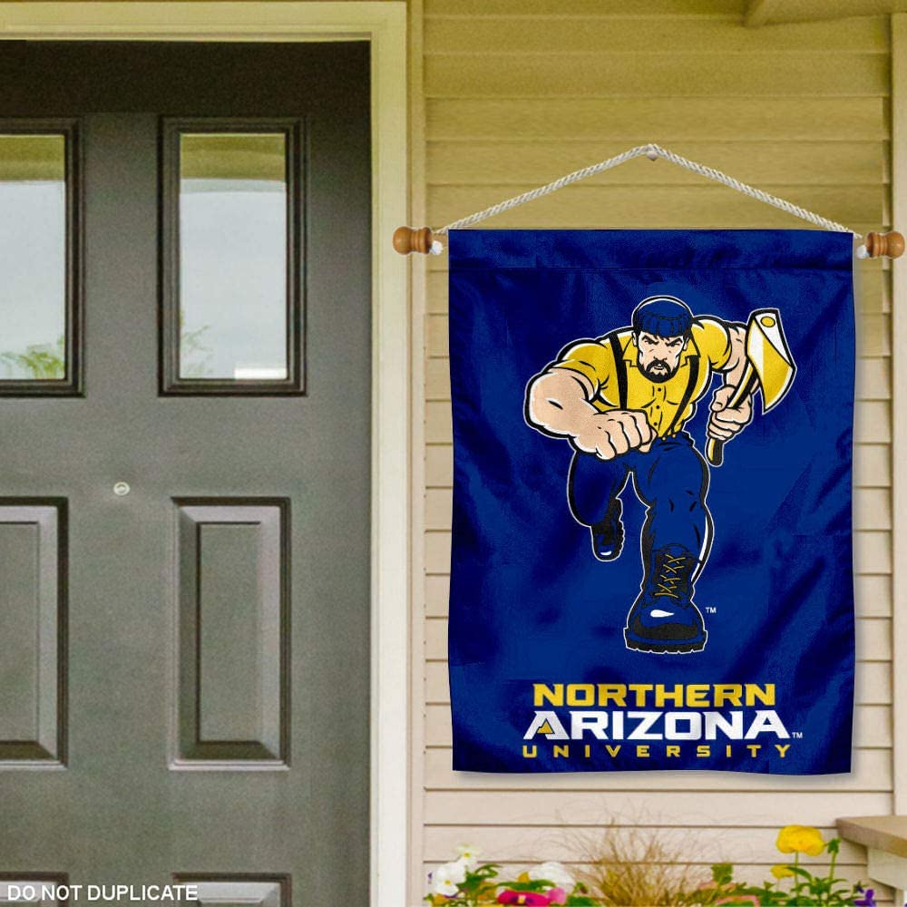 College Flags /& Banners Co Northern Arizona Lumberjacks Banner with Hanging Pole