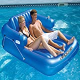 Best Pool Central Floating Chairs - Swimline Kickback Adjustable Double Lounger Swimming Pool Relaxing Review