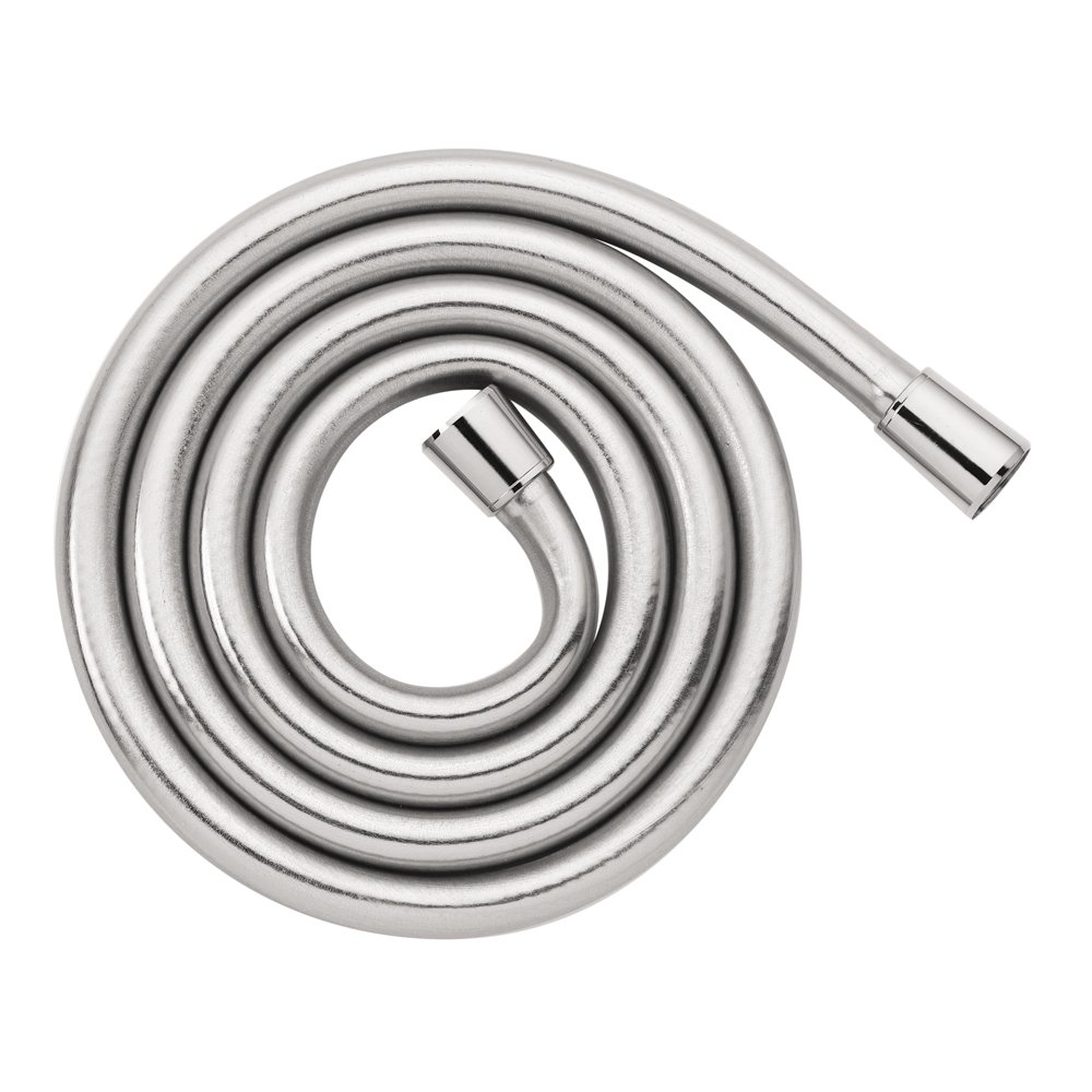 hansgrohe Techniflex B 63-inch Replacement Handheld Shower Hose with Flexible Non Metal Design in Chrome, 28276003 by Hansgrohe