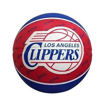SPALDING team nba clippers balones de baloncesto rojo Talla:7 ...