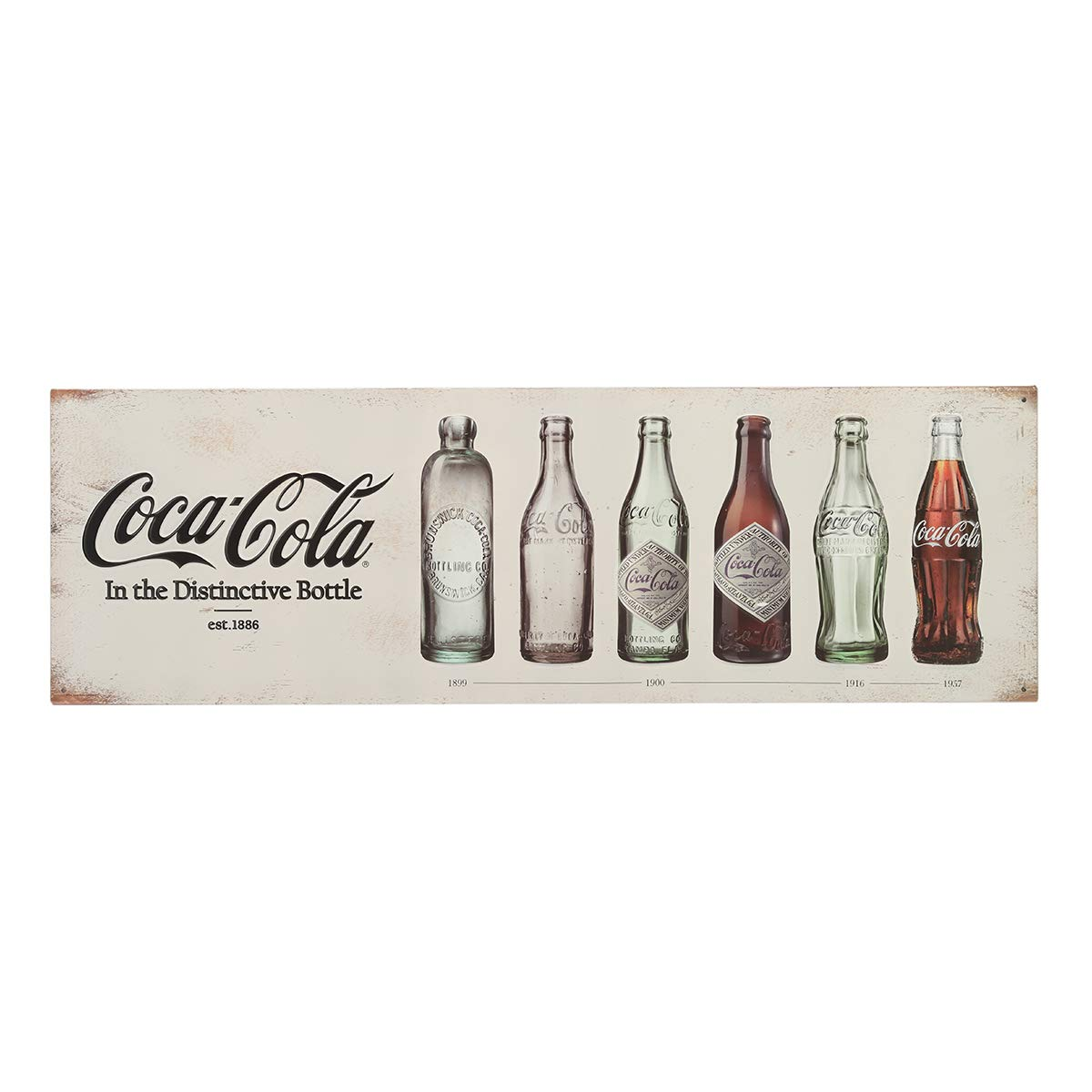 Open Road Brands Cartel de Lata con Relieve de Coca-Cola ...