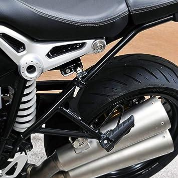 KIMISS Gancho de montaje de Bloqueo Cerradura de casco de aleación de lado izquierdo de motocicleta para modelos R Nine T 2014-2016: Amazon.es: Coche y moto
