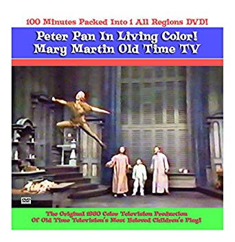 Peter Pan Mary Martin DVD Color TV 1960 Original Production