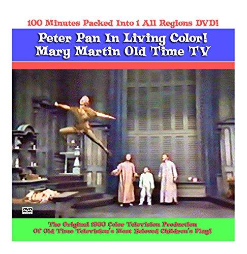 Peter Pan Mary Martin DVD Color TV 1960 Original TV Production (Peter Martin Dvd Pan Mary With)